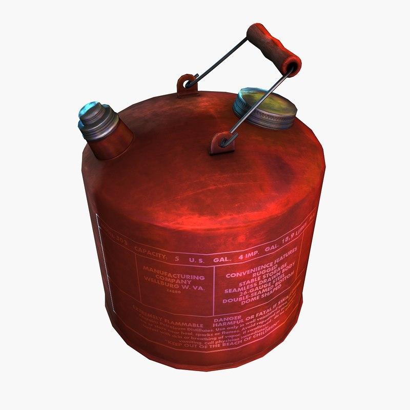 gas 3 3d max