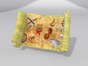 3d model of treasure