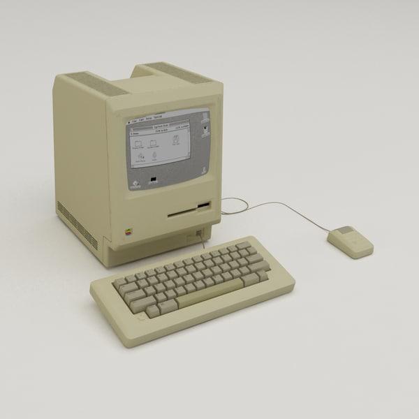 3d model macintosh 1984
