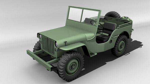 ma willys jeep