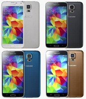 3d samsung galaxy s5 color model
