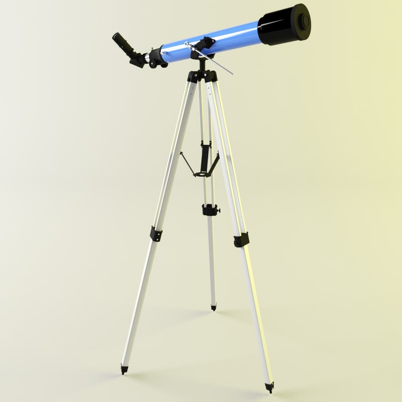 telescope sk707az2 3d model