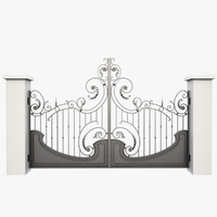 Wrought Iron Gate 27