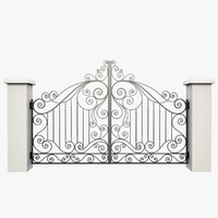 Wrought Iron Gate 32