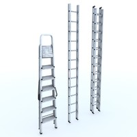 Aluminium Ladders collection