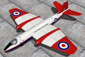 3d model of canberra bomber t4 trainer
