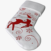 christmas stocking 3d 3ds