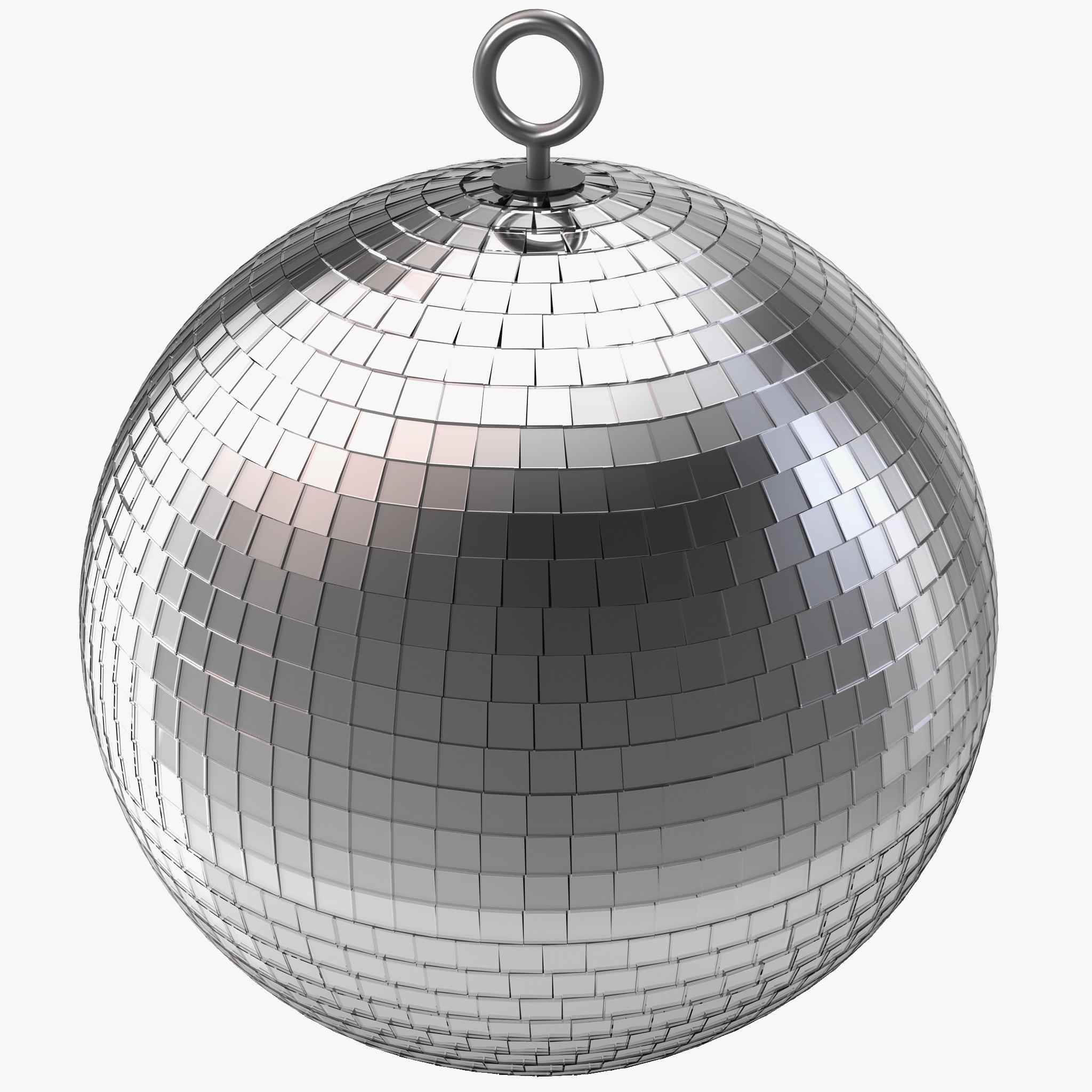3d model discoball design