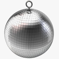 3d model discoball design