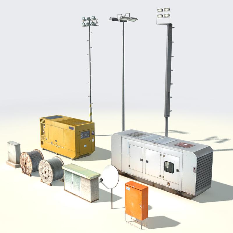 3ds lightpost electric