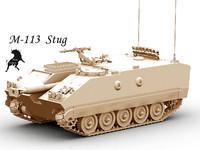 m-113 3d model
