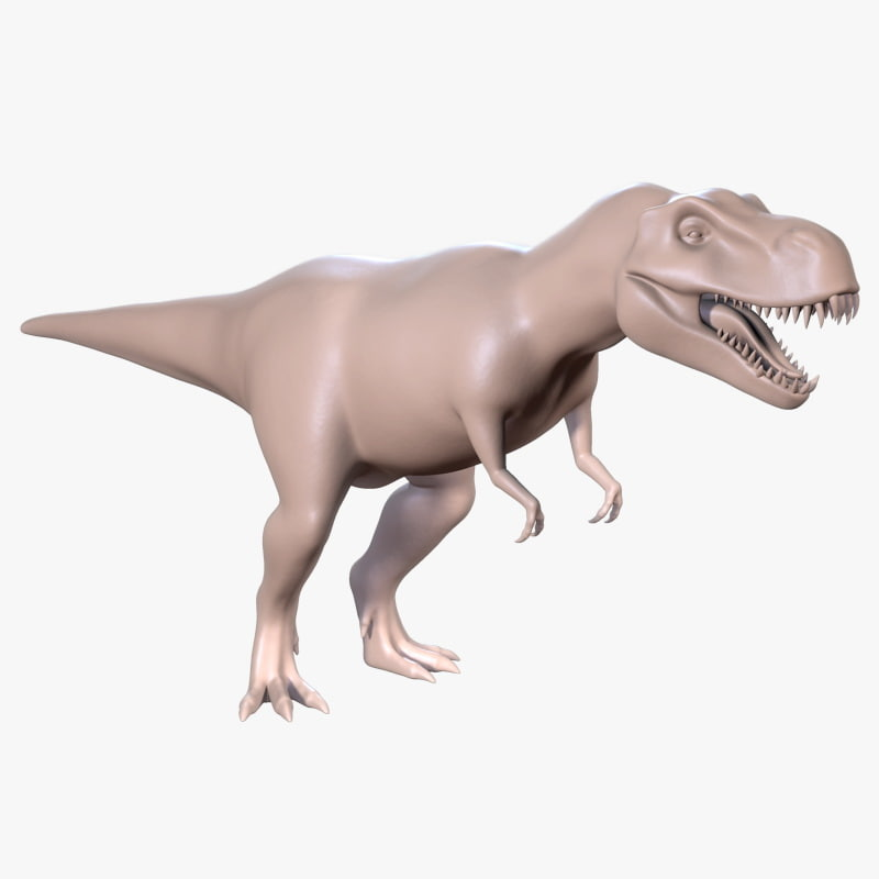 3d trex rex