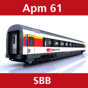 3d model of apm 61 passenger