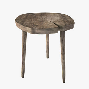 occasional table 3d model