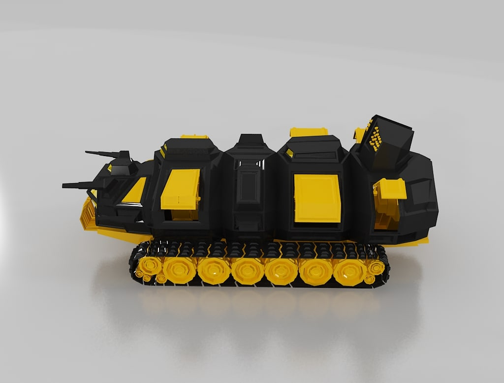 3ds max ant tank