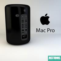 apple mac pro obj