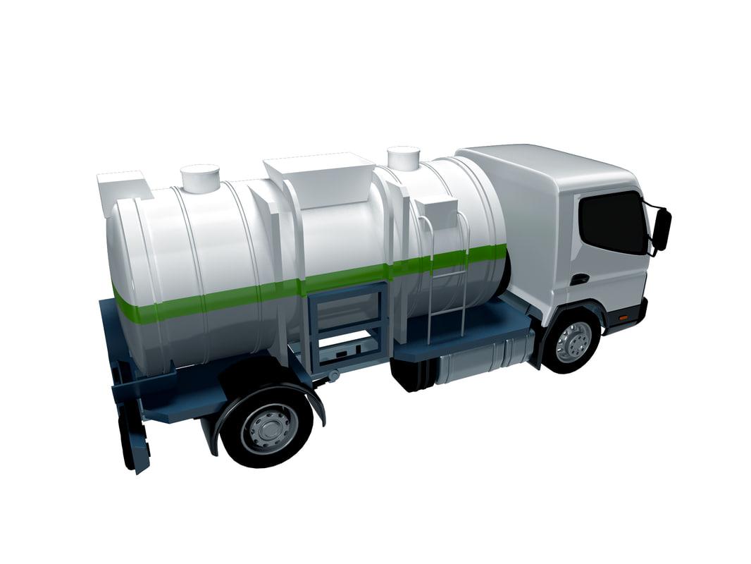 3ds max food generic vacuum truck