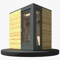 Prefabricated Backyard Studio