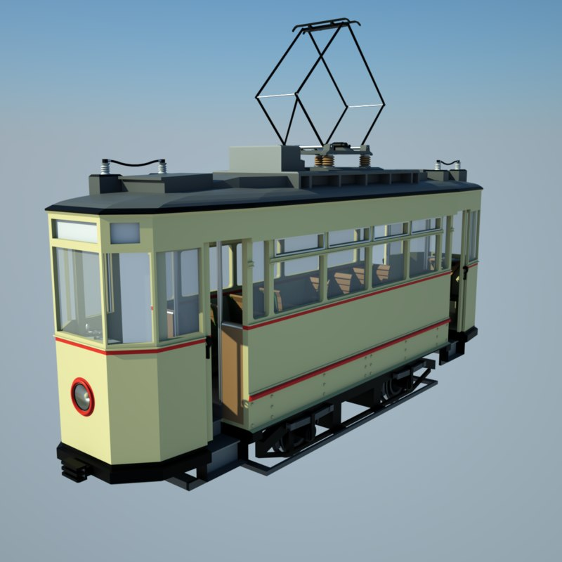 obj historic tram