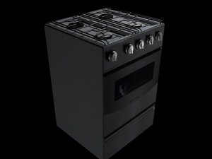 3d model of oven prop