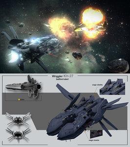 max battlecruiser wriggler kh-27