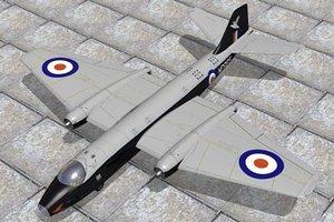 canberra bomber 3d model