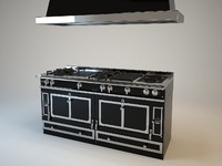 3ds max stoves la cornue grand