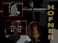 50's Hofner Acoustic Brunet