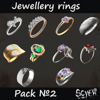 Jewellery Rings Pack 2