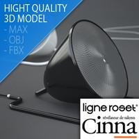 table lamp pharo design 3d model
