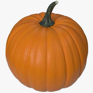3d pumpkin 2 model