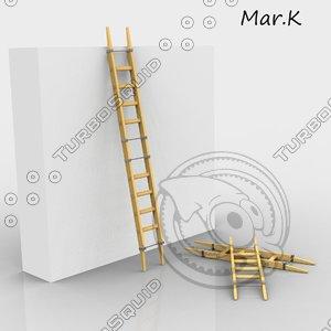 3ds adjustable ladder