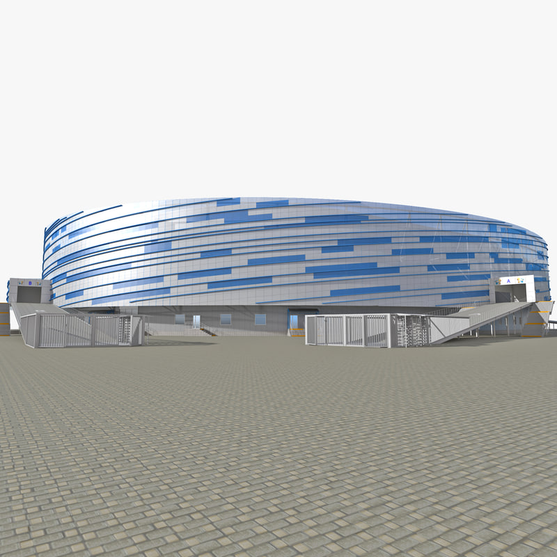 3ds sochi stadium shayba arena