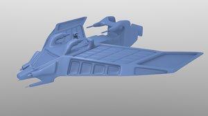 maya concept spaceship tessarae