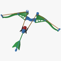 3ds toy bow arrow