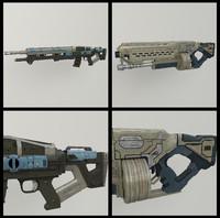 2 Sci-fi Guns