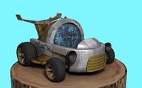 max bird cart car