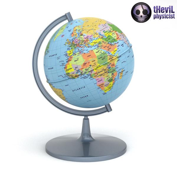max desk globe
