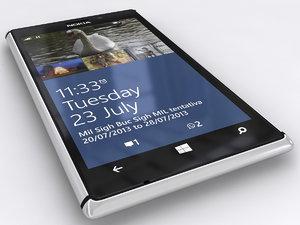 phone nokia lumia 925 3d max