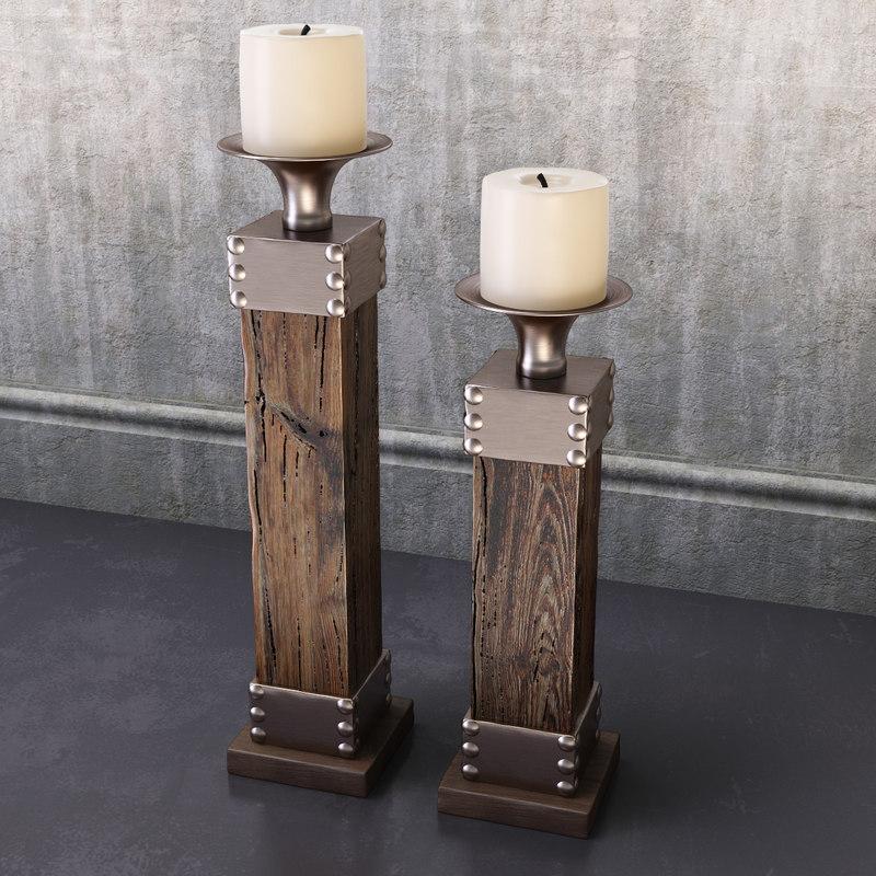 candleholders lican s2 3d max