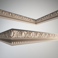 3d frieze petergof f39 model
