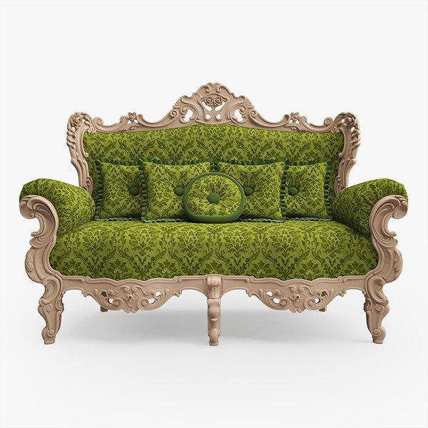 classic sofa 3d max