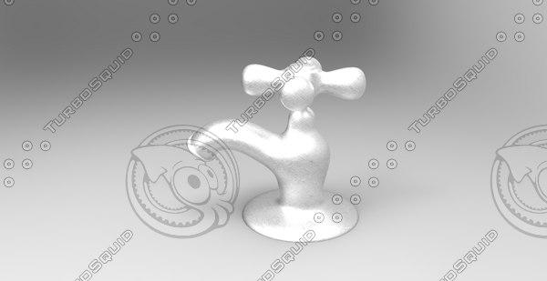 faucet design 3d model