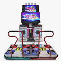 Pump It Up Fiesta Dance Machine