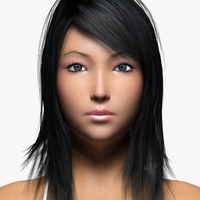 3d asian female