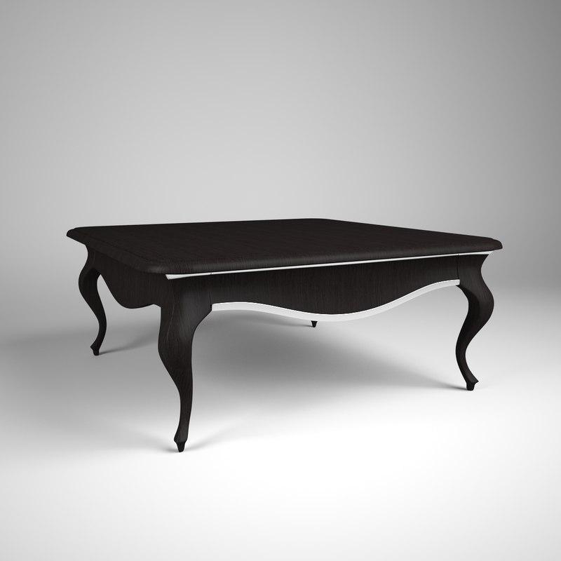 free chelini table 3d model