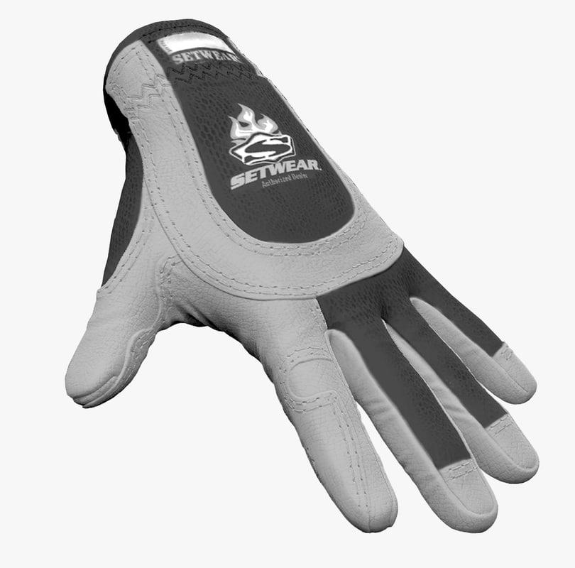 work glove - 3ds