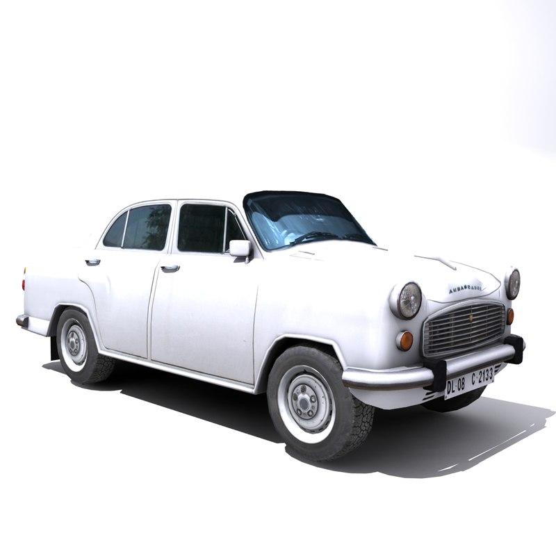 local ambassador car 3d model