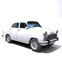 local ambassador car 3d model