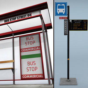 bus stop 3ds